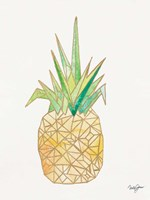 Origami Pineapple Fine Art Print