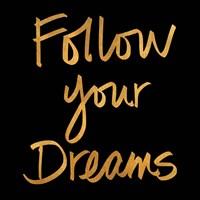 Follow Your Dreams II Fine Art Print
