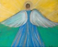 Angels Wings of Enlightment Fine Art Print