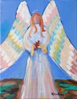 Angel of Fall Fine Art Print