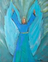 Angel of Praise Fine Art Print