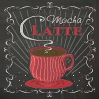 Coffee Chalk Square II Fine Art Print