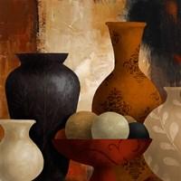 Spiced Vessels I Framed Print