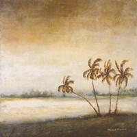 Coastal Romance II Framed Print