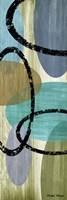 Elastic Blue II Framed Print
