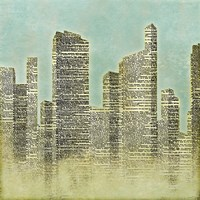The City II Framed Print