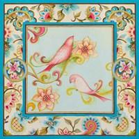 Twitter Pink I Fine Art Print