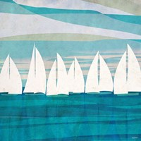 Afternoon Regatta II Fine Art Print