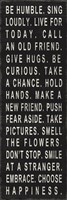 Be Humble (use kind words) Fine Art Print