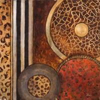 African Circles I Fine Art Print