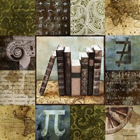 Escape to the Library I Fine Art Print