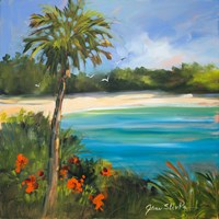 Palm Isle Fine Art Print