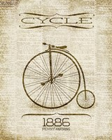 Cycle 1886 Fine Art Print