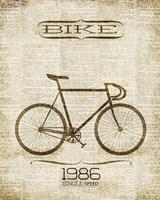 Bike 1986 Fine Art Print