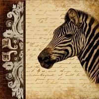 Madagascar Safari II Fine Art Print