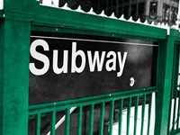 Subway Fine Art Print