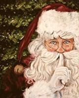 Secret Santa Fine Art Print