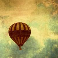 Air Balloon Ride Fine Art Print