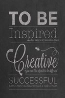 To Be Inspired Fine Art Print