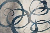 Organic Rings I Framed Print