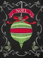 Noel Chalk Art II Fine Art Print