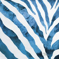 Watercolor Zebra I Fine Art Print