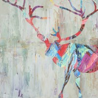 Rhizome Deer Fine Art Print