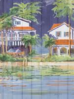 Beach Resort II Fine Art Print