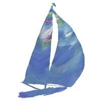 Set Sail on White II Fine Art Print