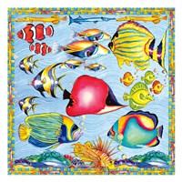 Fish Pattern Fine Art Print