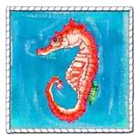 Beach Seahorse Fine Art Print