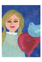 A Heart At Peace 1 Fine Art Print