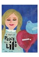 A Heart At Peace 2 Fine Art Print