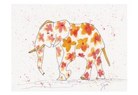 Elephant Flower Fine Art Print