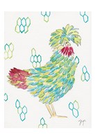 Funky Chicken 1 Fine Art Print