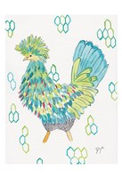 Funky Chicken 2 Fine Art Print