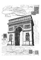 Eco Vintage Paris 2 Fine Art Print
