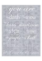 For Christmas Fine Art Print