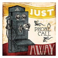 Just A Phone Fine Art Print