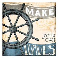 Make Your Own Waves Fine Art Print