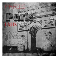 Paris Arc Victorian Fine Art Print
