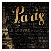 The Left Side of Paris Fine Art Print