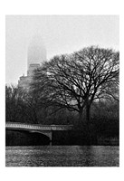 Central Park Bridge I Fine Art Print