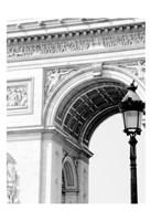 Paris Arc de Triomphe Fine Art Print