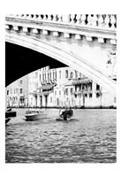 Venice Boat Ride Fine Art Print