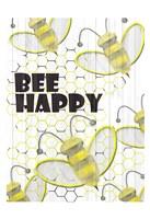 Bee Happy Fine Art Print
