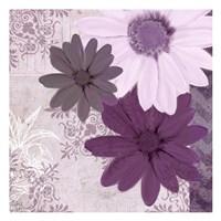 Purple Bloom 3 Fine Art Print