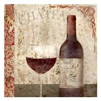 Vintage Wine 1 Fine Art Print