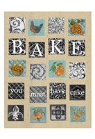 Bake Tiles Fine Art Print