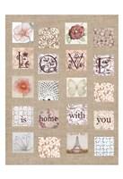Love Tiles Fine Art Print